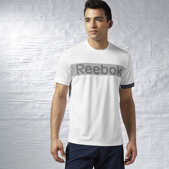 Reebok - Sport Essentials Tee White / Graphite AA9729
