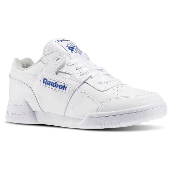 Reebok - Tênis Workout Plus WHT/ROYAL 2759