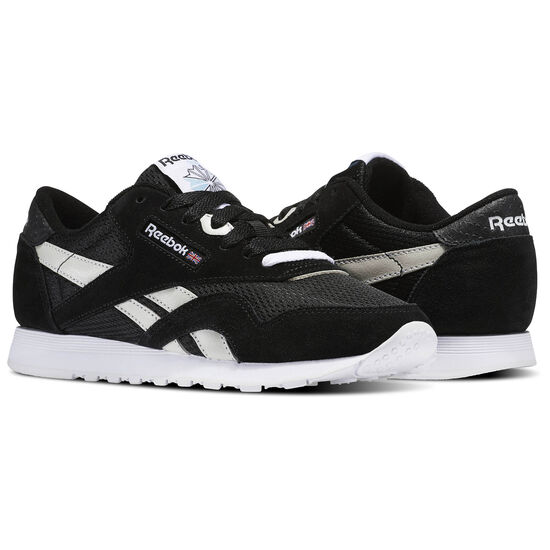 Reebok - Classic Nylon FBT Black/White/C.Blue/Electric Flash BS6052