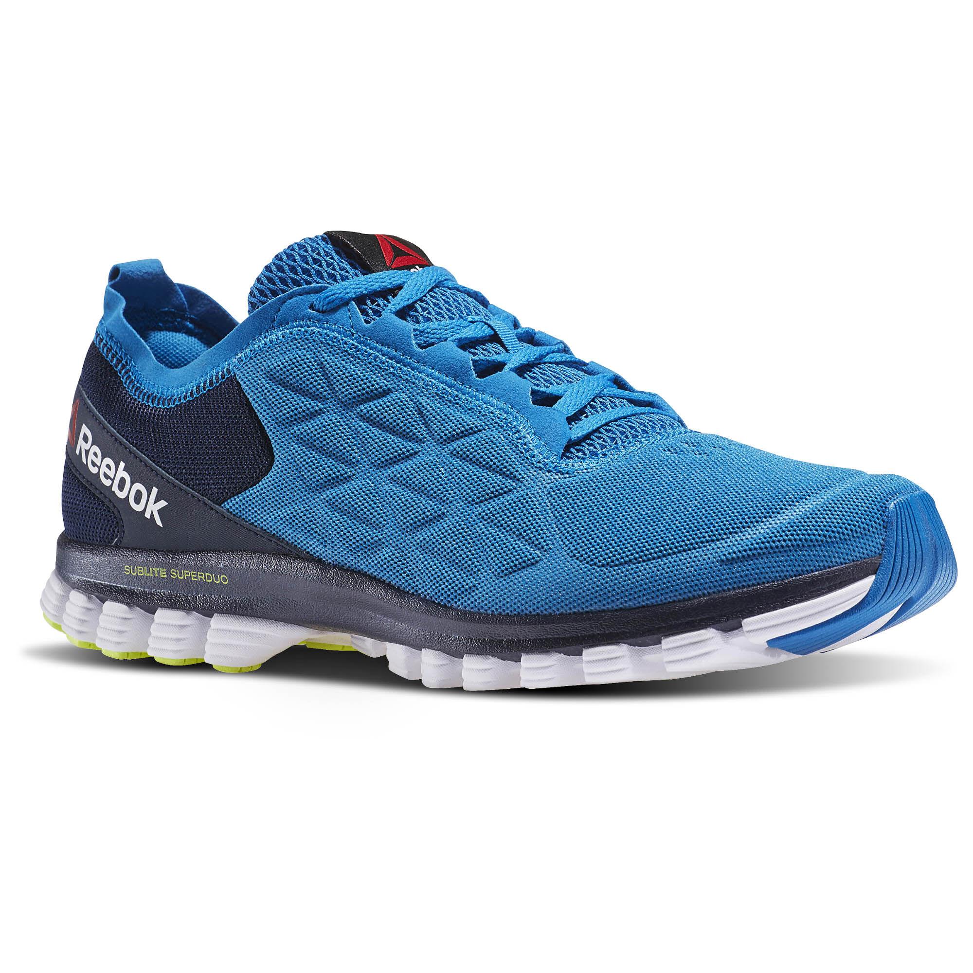 REEBOK SUBLITE SUPER Duo 3.0 BlackWhite Sportstyle Running Shoes 2016 AR2683