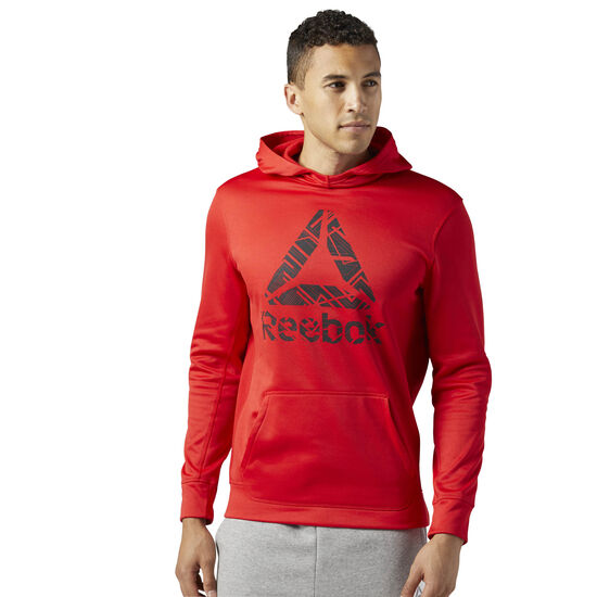 Reebok - Workout Ready Fleece Hoodie Primal Red BR7800