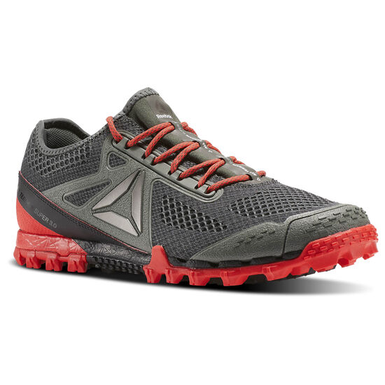 Reebok - All Terrain Super 3.0 Ironstoneone/Coal/Dayglow Red/Alloy/Pwtr/Wh BS5704