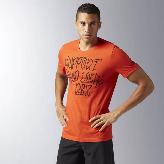 Reebok - Camiseta CrossFit Sylb Carotene BJ9356