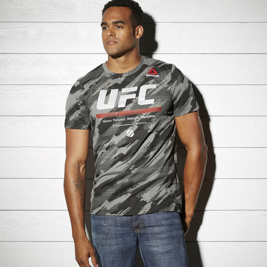 Reebok - UFC Fan Short Sleeve Triblend Tee Black AP6811