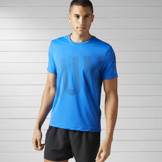 Reebok - Running ACTIVCHILL Tee Awesome Blue BK7322