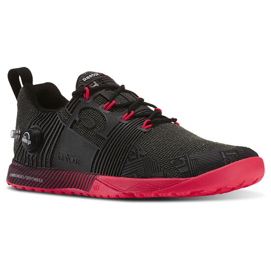 Reebok - Reebok CrossFit Nano Pump Fusion Black/Red V67646