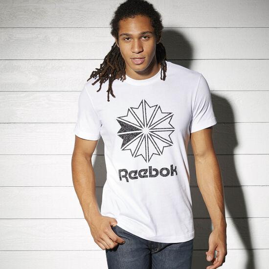 Reebok - Reebok Logo Print Tee White BK4177