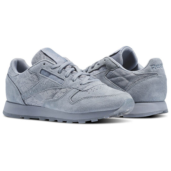 Reebok - Classic Leather Lace Meteor Grey/White BS6522