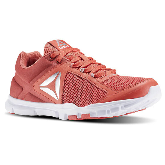 Reebok - Yourflex Trainette 9.0 MT Fire Coral/Canyon Red/White/Skull Grey/Silver/Gr BD5549