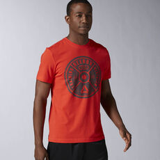 Reebok - Bumper Plate Graphic Tee Riot Red AY1046