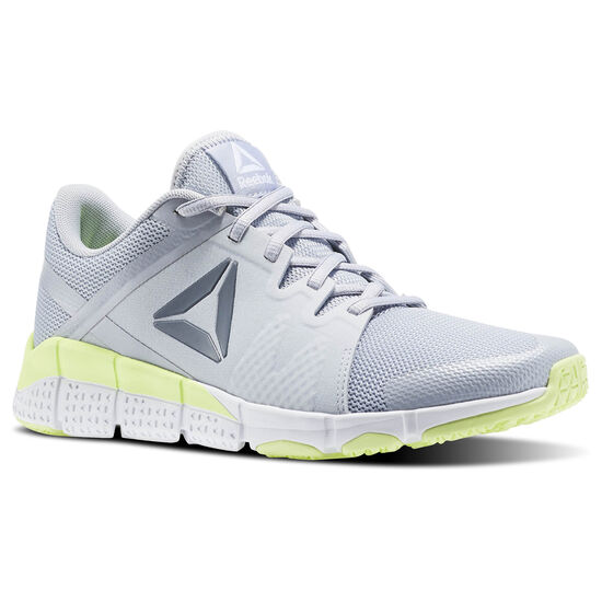 Reebok - Women's Reebok Trainflex Cloud Grey/Asteroid Dust/Electric Flash/ BS8059