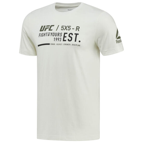Reebok - UFC Ultimate Fan Graphic Tee Chalk BQ2947