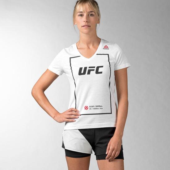 Reebok - UFC Fan Triblend V-Neck White AP6846