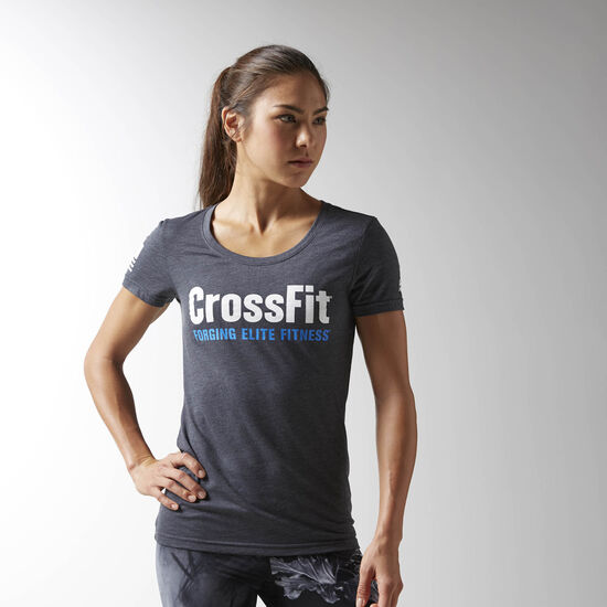 Reebok - Reebok CrossFit Forging Elite Fitness Tee Lead BJ9283