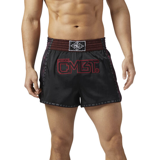 Reebok - Reebok Combat Muay Thai Shorts Black BQ5820