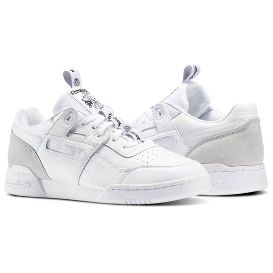 Reebok - Workout Plus IT White/Skull Grey/Black BS6214