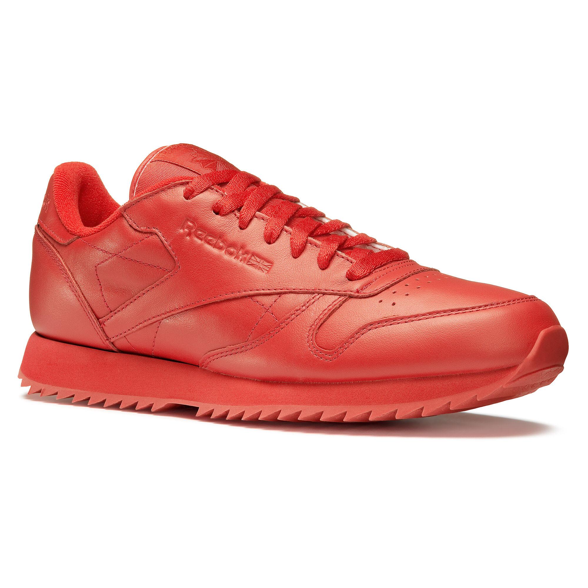 best service b96d1 92e32 Outlet Outlet Reebok - Cl Leather Ripple Mono Scarlet AR2349 ... Men s Shoes  ...