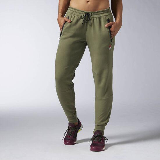 Reebok - Pantalon Reebok CrossFit Canopy Green AX9726