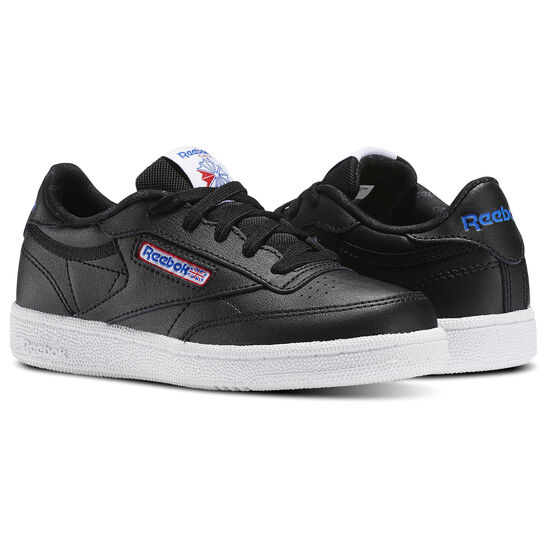 Reebok - Club C Black/White/Vital Blue/Primal Red BS7287