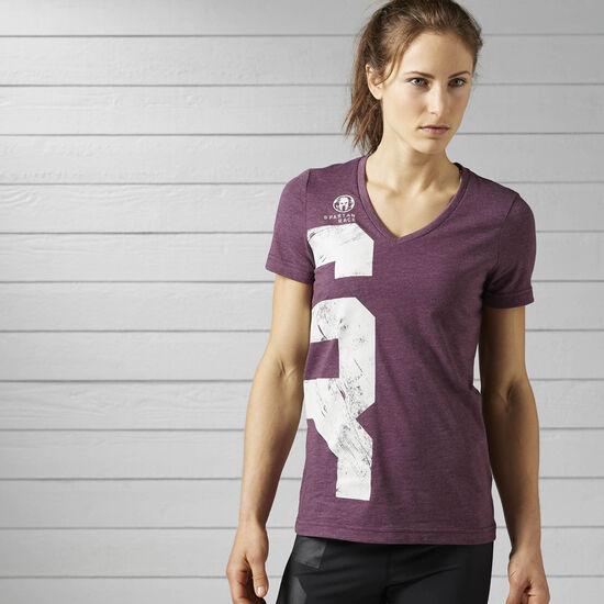Reebok - Camiseta Spartan Race Pacific Purple BK0218
