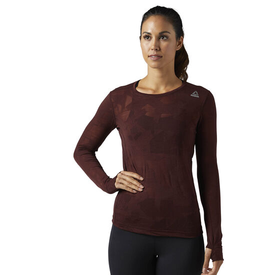 Reebok - Burnout Long Sleeve Shirt Burnt Sienna BR4051