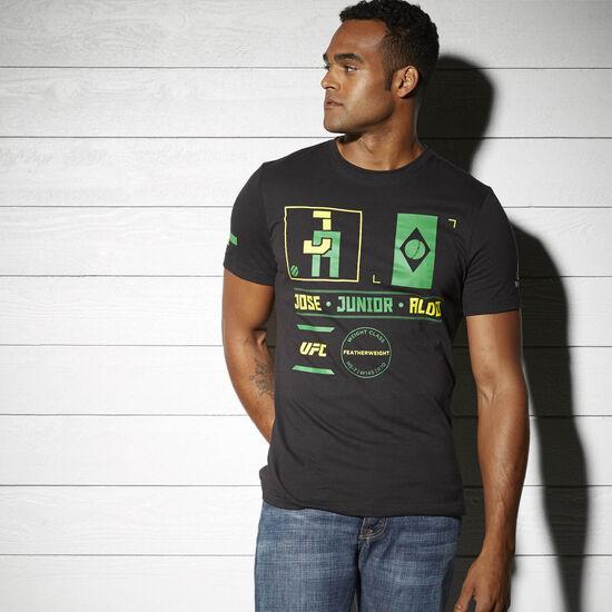 Reebok - UFC Fan Jose Aldo Nickname Tee Black AP6689