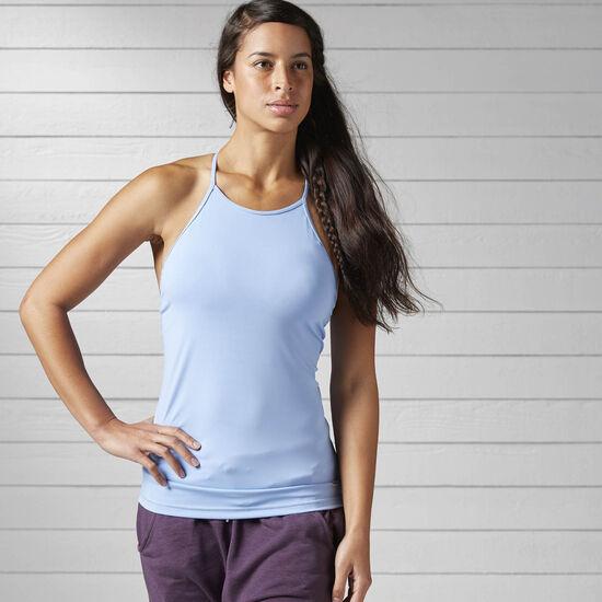 Reebok - Women's Yoga Long Bra Top Galaxy BJ9011