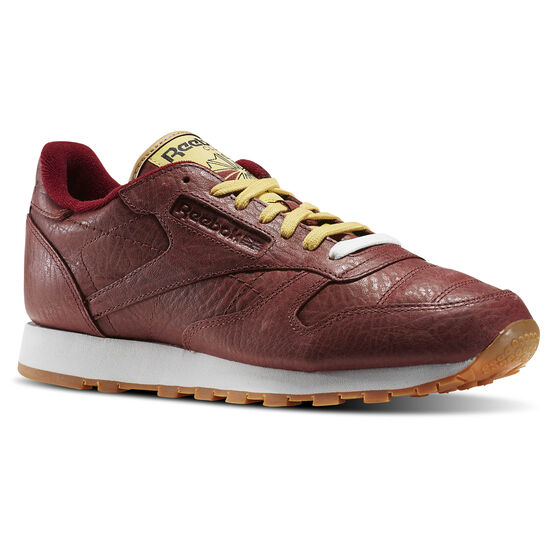 Reebok - Classic Leather Boxing Rugged Maroon/Retro Yellow/Chalk-Gum BD4891