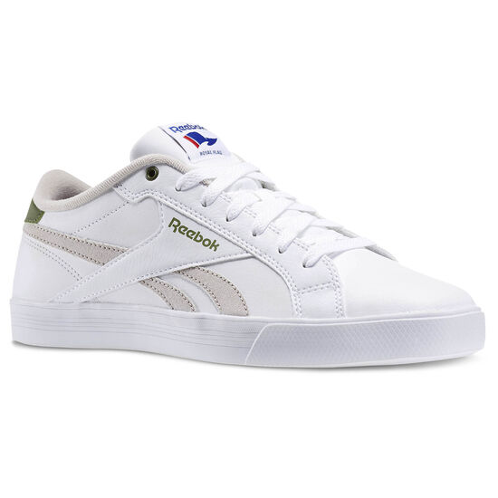 Reebok - Zapatillas Classic Royal Complete Low white/sand stone/canopy green V70729