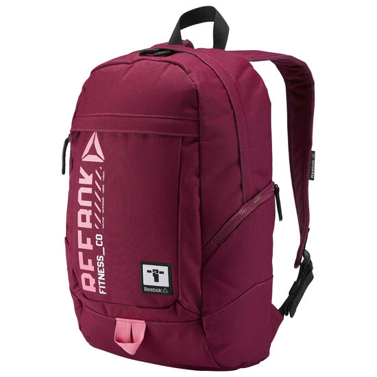Reebok - Motion Workout Unisex Active Backpack Rebel Berry AY1816