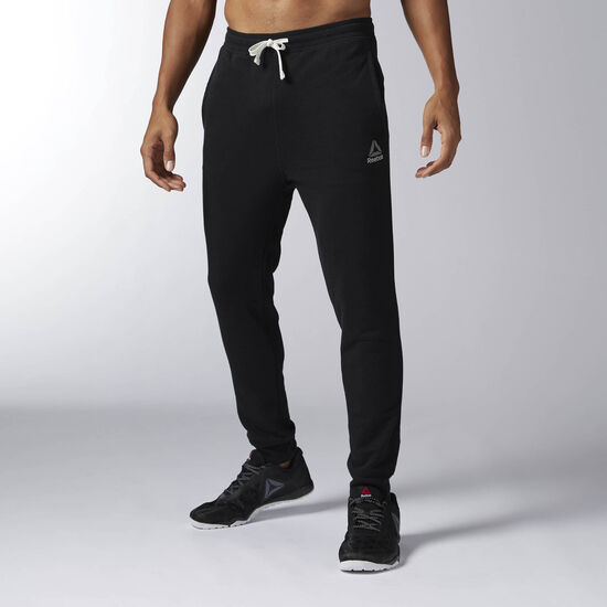 Reebok - Elements French Terry Cuffed Pant Black BK5055