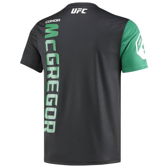 Reebok - UFC Fight Kit Conor McGregor Walkout Jersey Black/Basil Green AZ8993