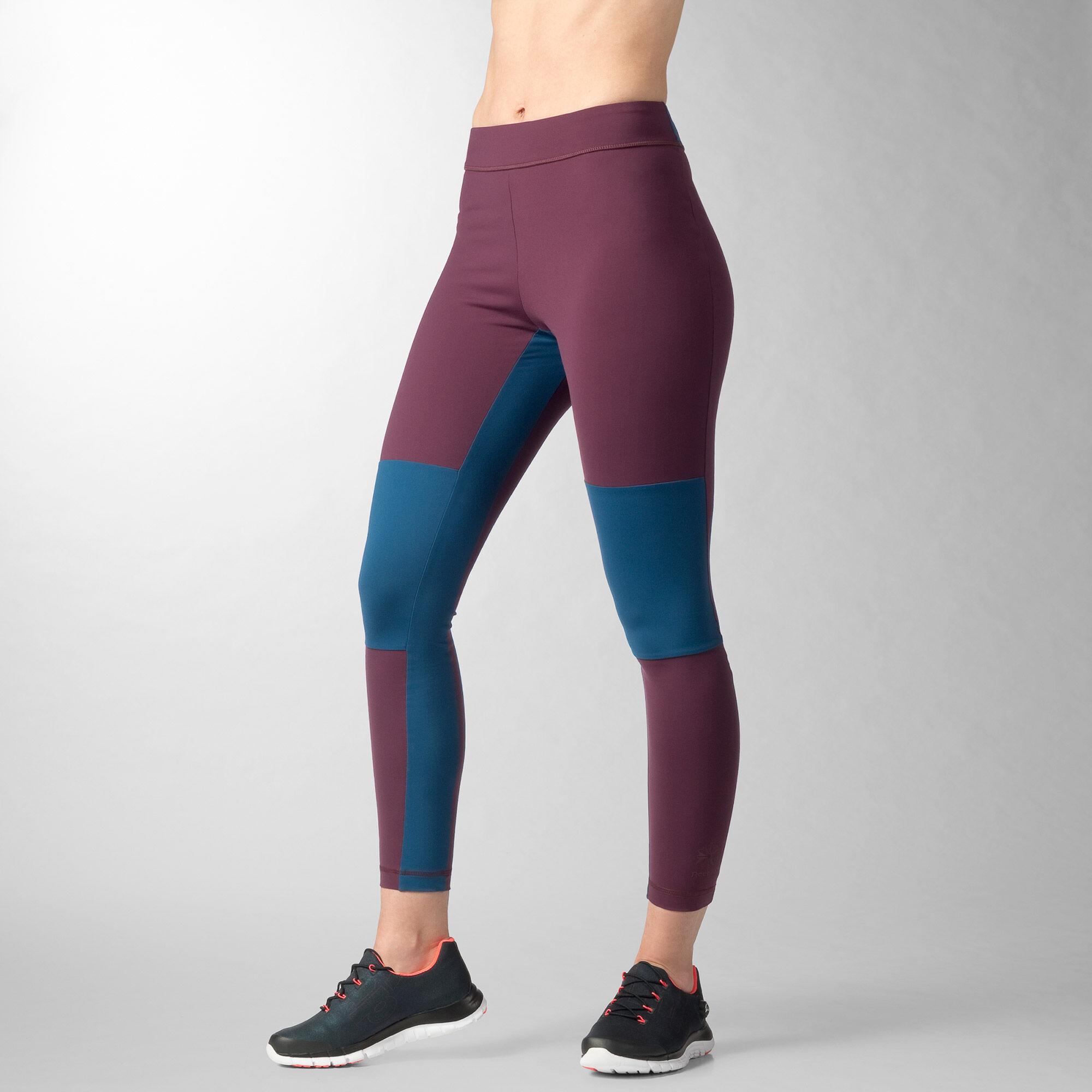 femmes reebok classics running leggings. Black Bedroom Furniture Sets. Home Design Ideas