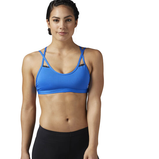 Reebok - Reebok CrossFit Double Strappy Sports Bra Vital Blue CD1430