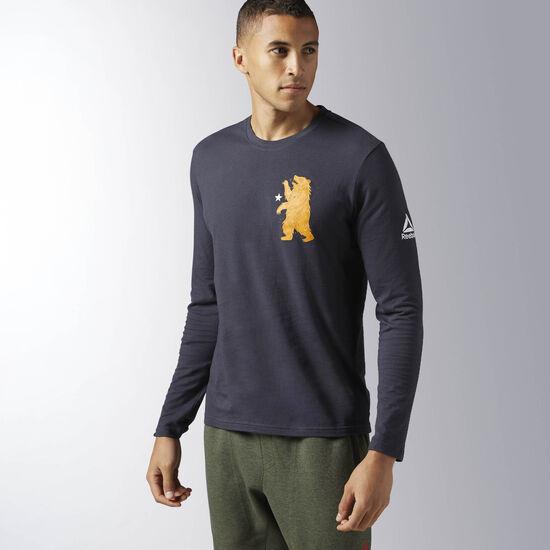 Reebok - Reebok CrossFit Bear Long Sleeve Shirt Lead B45193