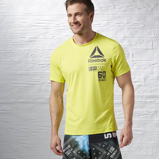 Reebok - Reebok ONE Series ACTIVChill Short Sleeve Top Hero Yellow AX9370