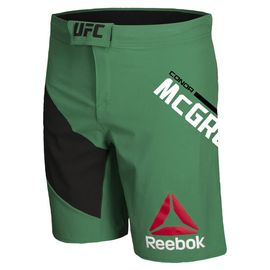 Reebok - UFC Fight Kit Conor McGregor Octagon Shorts Basil Green B39684