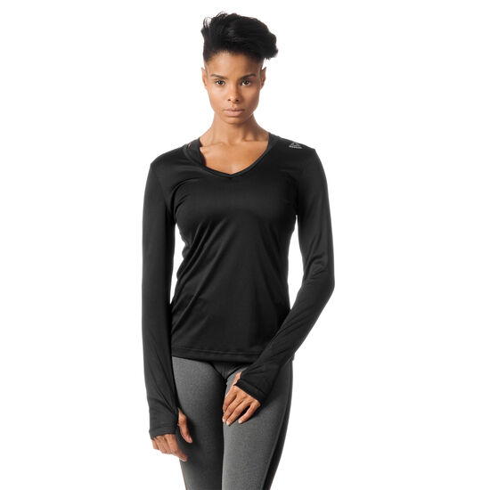 Reebok - Running Essentials Long Sleeve Shirt Black BJ9978