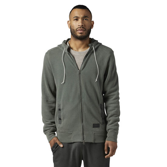 Reebok - The Noble Fight Washed Hoodie Ironstone BQ5692