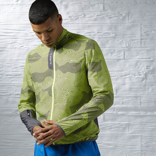 Reebok - Running Essentials Woven Jacket Ash Grey AI1048