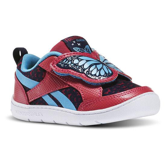 Reebok - Ventureflex Critter Feet Butterfly Pink Craze/Blue Beam/Collegiate Navy/White BD3357