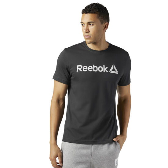 Reebok - Reebok Logo Tee Coal BR5584