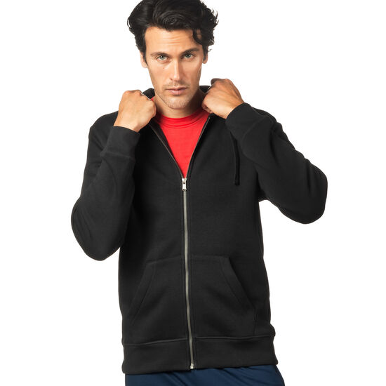 Reebok - Elements Fleece Full Zip Hoodie Black BK4993