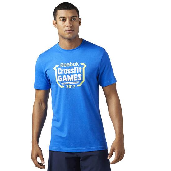 Reebok - Спортивная футболка Reebok CrossFit Games VITAL BLUE F12-R CD7462