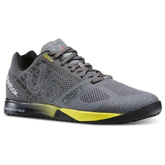 Reebok - Zapatillas de CrossFit Nano 5.0 shark/ash grey/black/yellow spark V72408