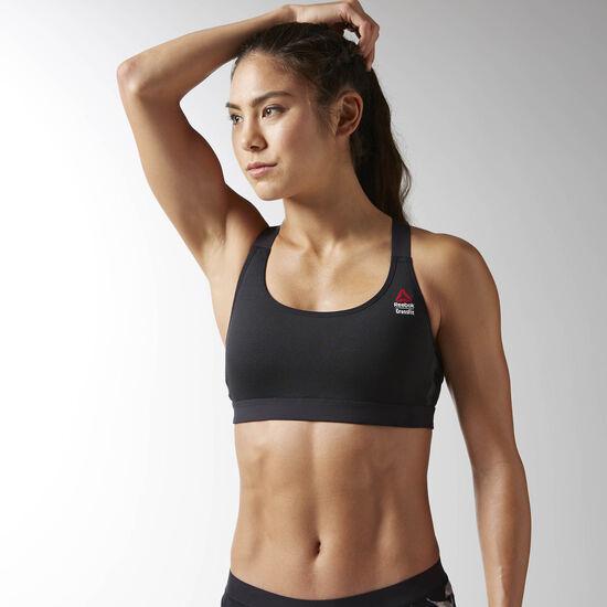 Reebok - Femmes Reebok CrossFit High Impact Sports Bra Black BS4303
