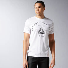 Reebok - Reebok Stamp Graphic Tee White AY1050