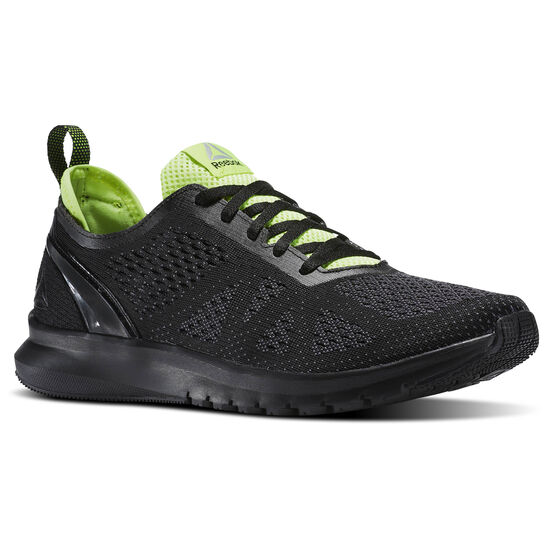 Reebok - Print Smooth Clip Ultraknit Black/Ash Grey/Pewter/Electric Flash BS8577
