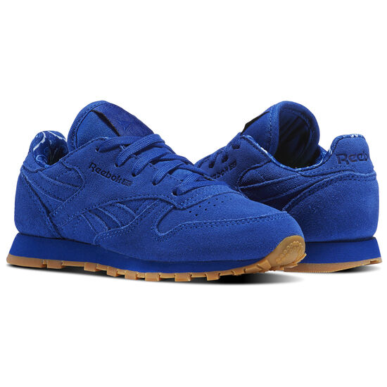 Reebok - Tênis Classic Leather Tdc Collegiate Royal/White BD5050