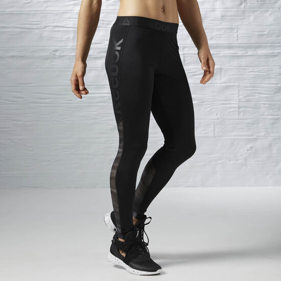 Reebok - Workout Ready Logo Tight Black/Alloy AY1869